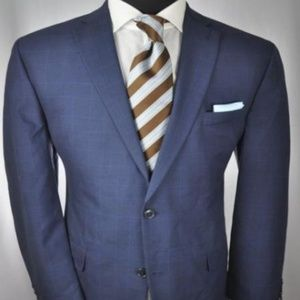 Michael Kors Modern 2Btn Suit 44 L + ZEGNA Tie